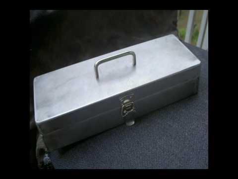 板金をやってみた!薄板で工具箱を製作 ダイジェスト版 A tool box was made with sheet metal.