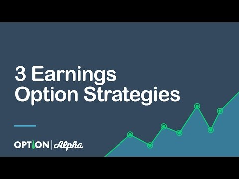 Best option strategies for earnings