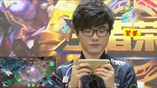 LoL Mobile Faker chơi League of Legends mobile Vương Giả Vinh Diệu