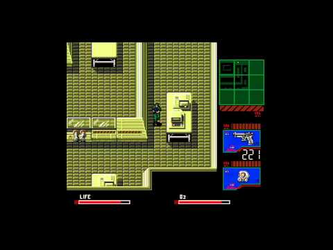 Metal Gear 2: Solid Snake (MSX/Xbox 360) Full Playthrough