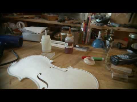 a profile of violin maker sam zygmuntowicz in his brooklyn workshop