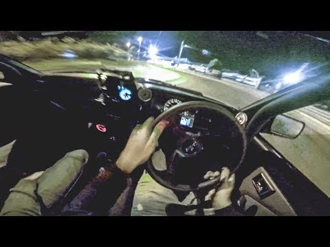 Toyota AE86 Trueno - AMAZING INTAKE SOUND - AGGRESSIVE DRIVE & DRIFT [EPIC POV] *4 AGE 20v Black Top