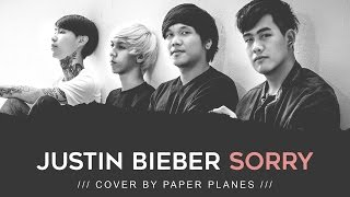 """Paper Planes - """"Sorry"""" Lyric Video (Justin Bieber Cover)"""
