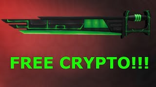 HOW TO GET A FREE CRYPTO EXOTIC!!! (ROBLOX ASSASSIN) [CLOSED]