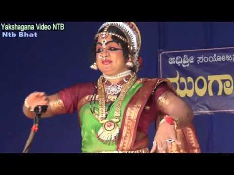 Yakshagana Video Ntb - Santosh kulashekhar - Sati Shiromani Prabhavati in Sudhanvarjuna