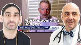Brett Favre's Painkiller Addiction & Prescription Drug Addiction Dangers