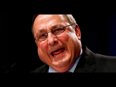 Racist Maine Governor Paul LePage Lectures Representative John Lewis