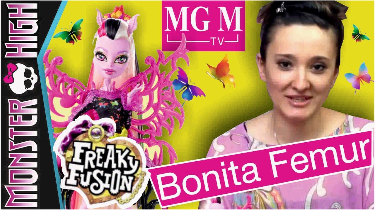 Bonita femur freaky fusion monster high - Monster high bonita ...