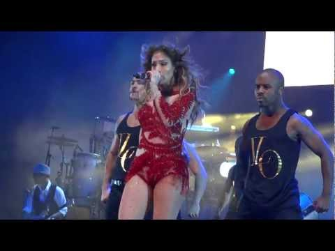 Jennifer Lopez - Papi @ Dance Again World Tour live Sydney Australia 15/12/12