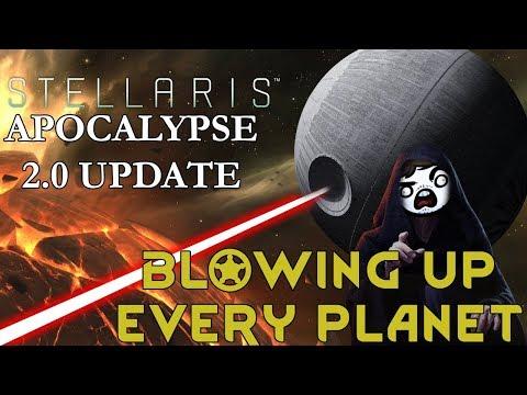 Stellaris 2.0 Apocalypse - BLOWING UP EVERY PLANET