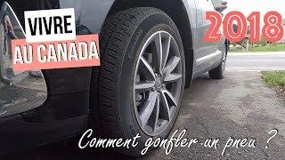 Comment gonfler un pneu au Canada ? (2018)