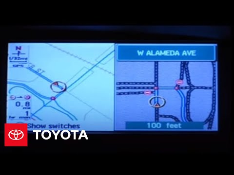 2005 - 2007 Avalon How-To: Navigation System - Voice Guidance Mode   Toyota