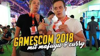 Mafuyu und Herr Currywurst auf der gamescom 2018 thumbnail