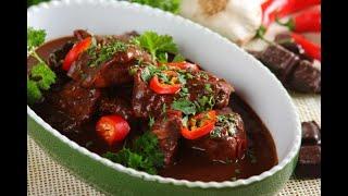 Przepis - Meksykański kurczak w sosie mole - czekoladowym (przepisy kulinarne Przepisy.pl)