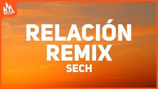 Sech - Relación Remix (Letra) ft. J Balvin, Farruko, ROSALÍA