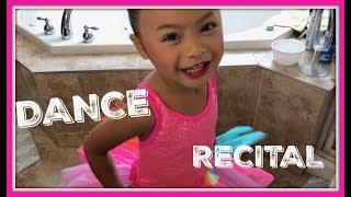 DANCE RECITAL Vlog With Emma