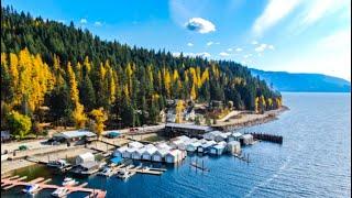 Sandpoint Idaho Through The Seasons
