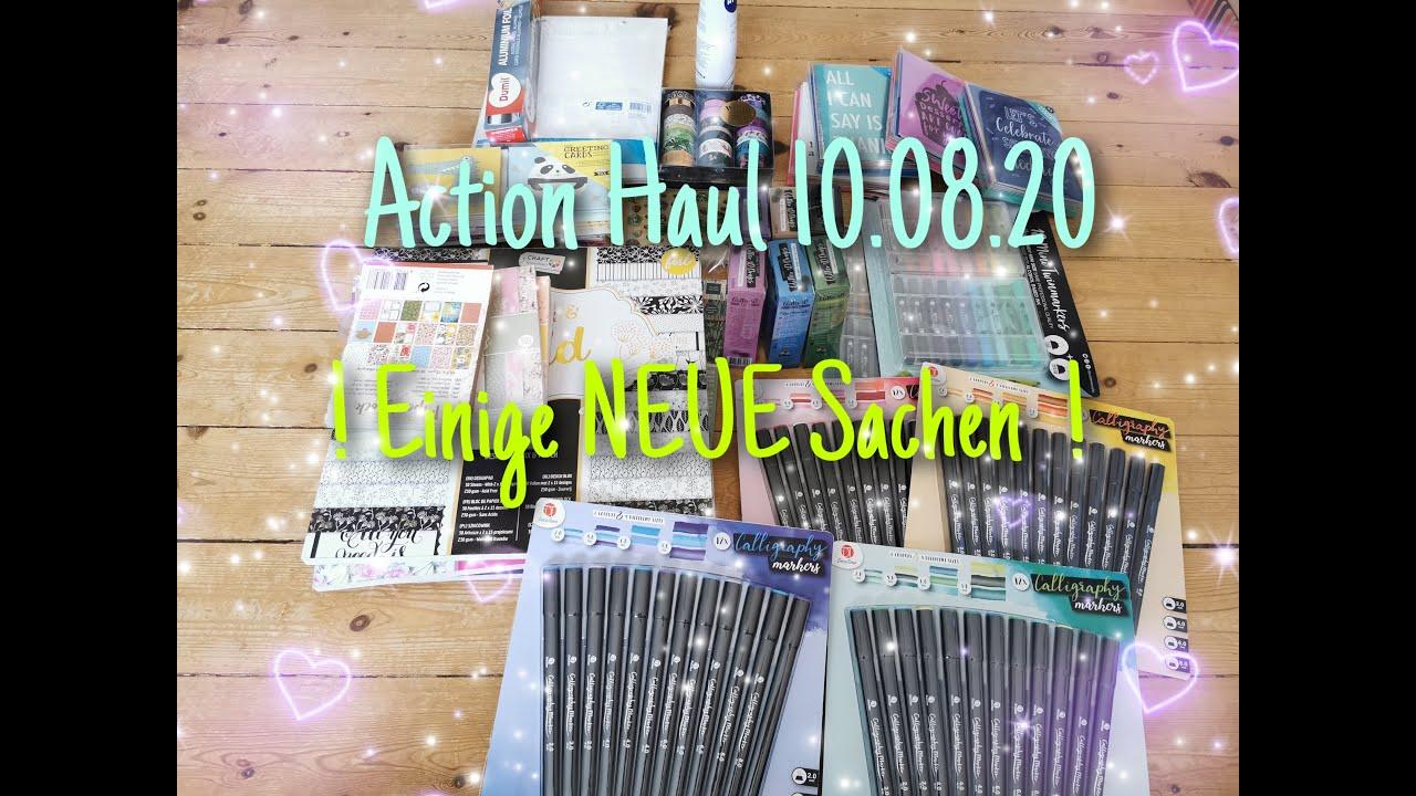 NEUES bei ACTION  ! Action HAUL { NEUE Blöcke,  NEUE Calligraphy Markers, NEUE Cards etc.  } !
