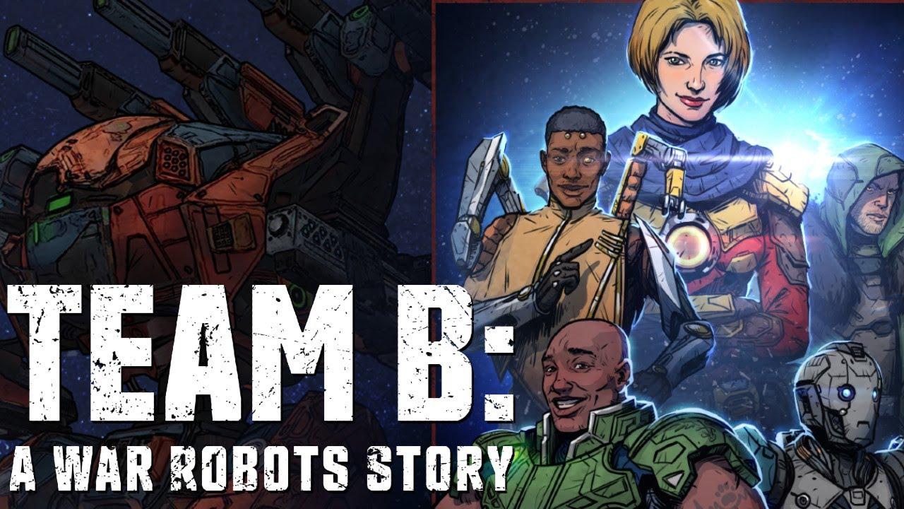 Team B: A War Robots Story — Trailer | WAR ROBOTS AUDIO DRAMA