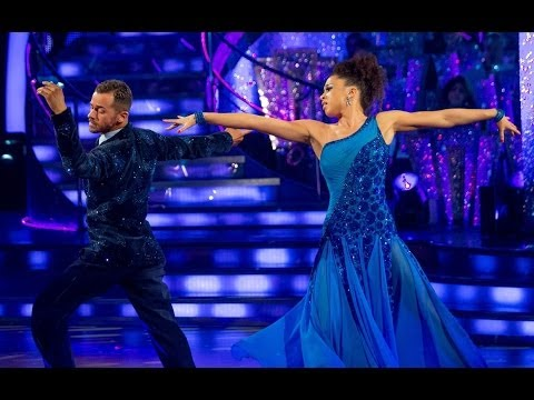 Natalie Gumede American Smooths to 'And I Am Telling You I'm Not Going'  Strictly Come Dancing