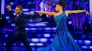 Natalie Gumede American Smooths to 'And I Am Telling You I'm Not Going' - Strictly Come Dancing