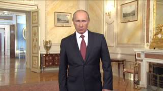 Vladimir Putin speaking English for the International Exhibitions Bureau Thumbnail