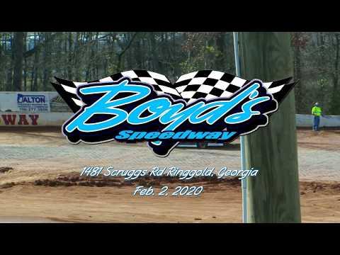 602 Sportsman Qualifying @ Boyds Speedway Cabin Fever Feb  2, 2020
