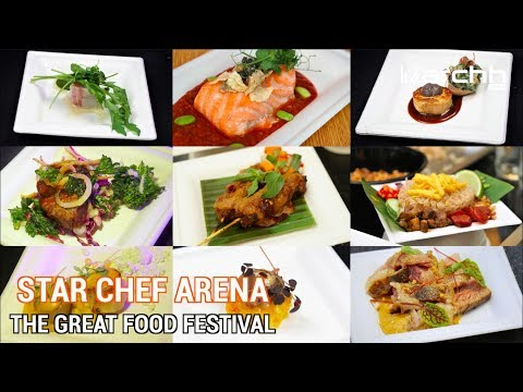 The Great Food Festival: International culinary celebrities are here in Singapore!