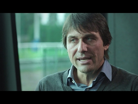 Antonio Conte on the 3-4-3 & getting embarrassed about his celebrations