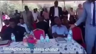 MKUU WA MKOA WA ARUSHA MRISHO GAMBO AMZUIA MBUNGE LEMA KUWEKA JIWE LA MSINGI