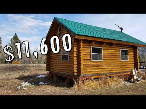 #TinyHouse Log Cabin Kit (Only $11,600)
