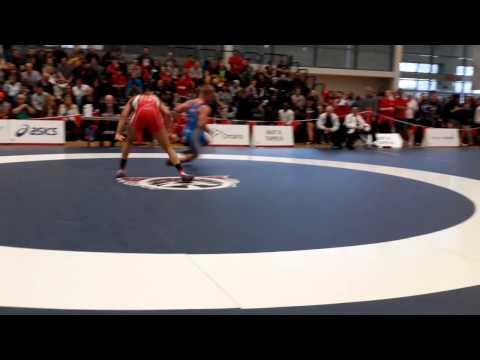 2015 Senior National Championships: 86 kg Jasmit Phulka vs. Matthew Miller