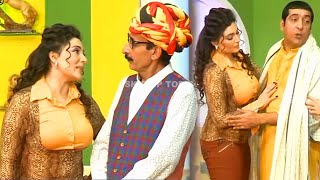 Zafri Khan With Khushboo Amanat Chan and Iftikhar Thakur Stage Drama Kaki Full Comedy Clip 2019