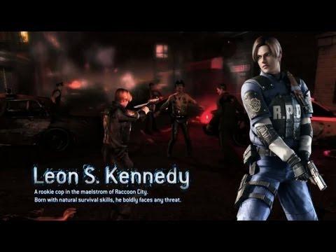Resident Evil 2 Leon Paul Mercier voice from RE4