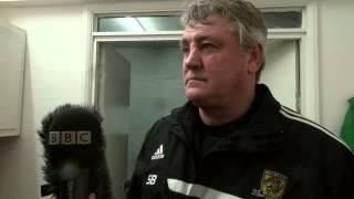 Southend United v Hull City   Post Match Reaction with Steve Bruce