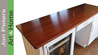 How To Make A Wooden Countertop By Jon Peters