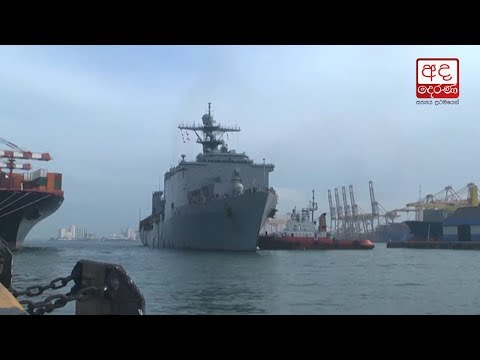 USS Rushmore arrives at Port of Colombo