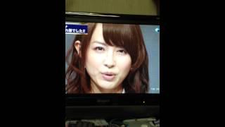 平井理央さんのTV出演ラストメッセージです( ^ω^ ) 平井理央さん可愛い...