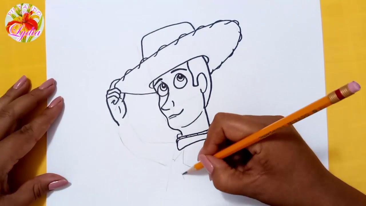 Como Dibujar A Woody De Toy Story 4 How To Draw Woody