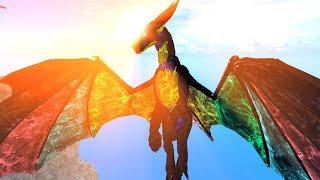 DER WUNDERBARE BUNTE DRACHE! Wir erschaffen Rainbow Dragon?! -Drachenleben in ROBLOX