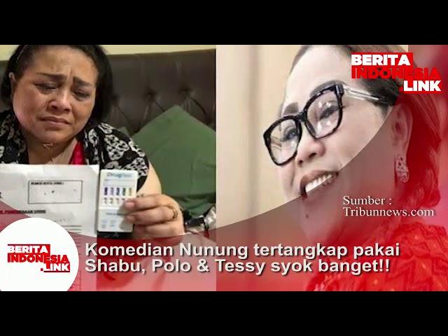 Komedian Nunung tertangkap pakai Shabu, ..Polo dan Tessy syol banget!!