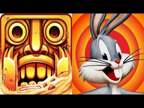 Temple Run 2 Vs Looney Tunes Temple Dash