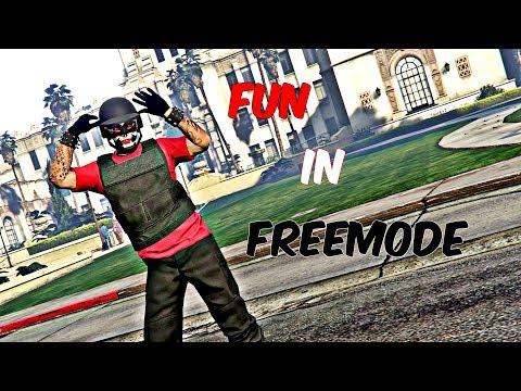 GTA 5 Online - Fun In Freemode