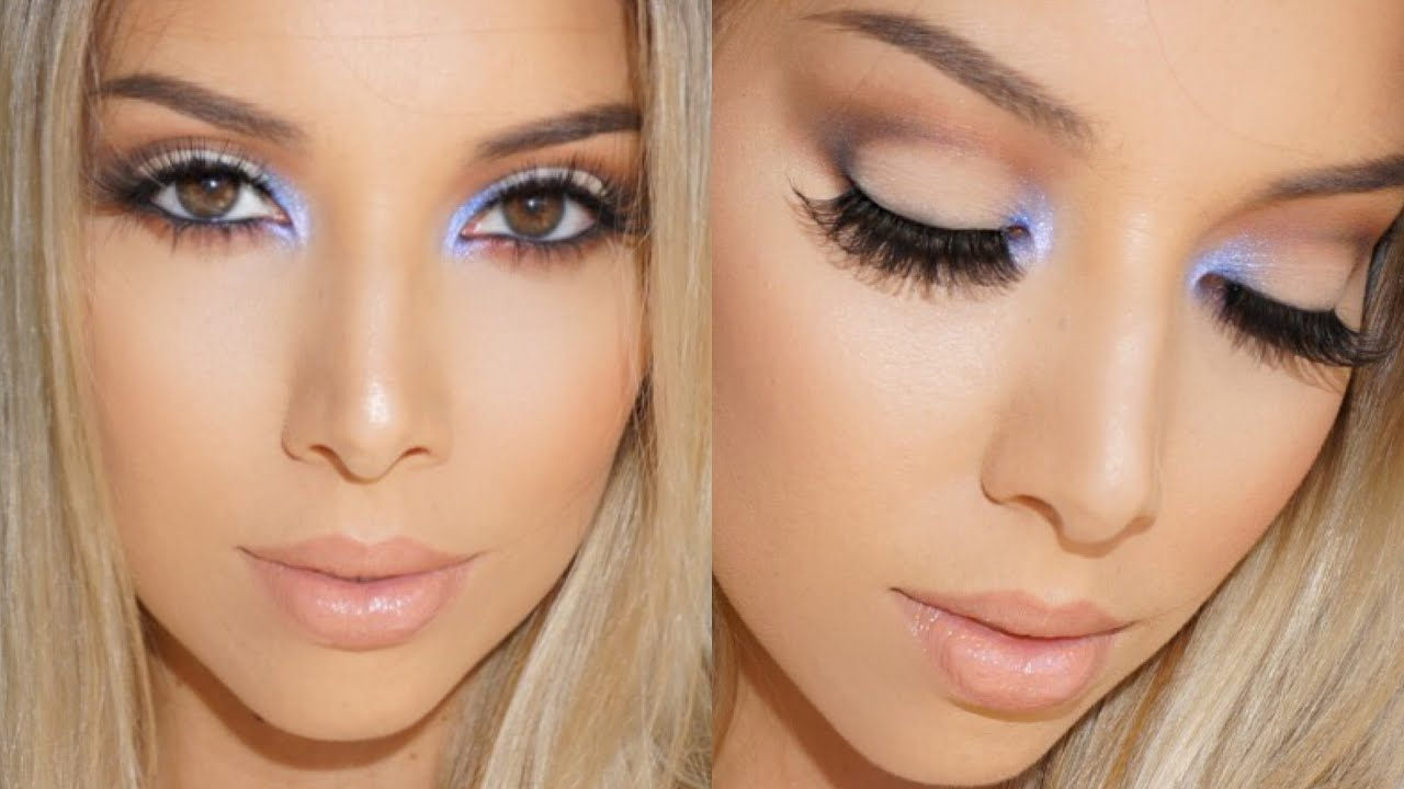 Smokey Eyes With A Pop Of Color Lustrelux Youtube