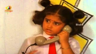 Download Hindi Video Songs - Sindhoora Devi Movie Scenes - Baby Shamili making a call - Vivek, Kanaka