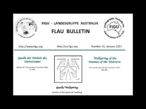 FIGU - land group AUSTRALIA - Wellspring of the Oneness of the Universe By BEAM