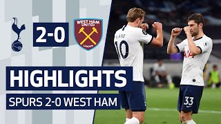 Highlights from our 2-0 win against west ham in the premier league at tottenham hotspur stadium.