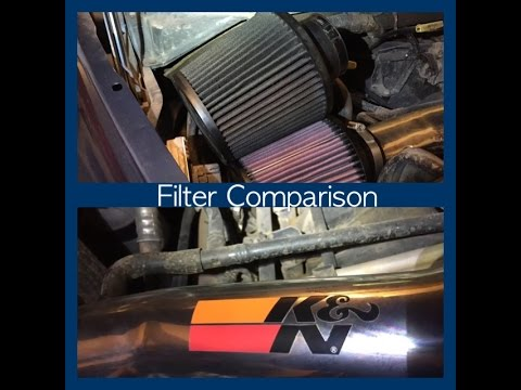 Clean Air Filter vs Dirty Air Filter - TEST TO SEE THE DIFFERENCE