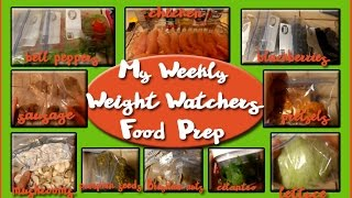 new and updated weight watchers weekly food prep smartpoints