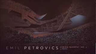 Emil Petrovics - String quartet No.1 - Presto